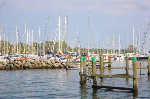 Sønderborg Denmark marina boats water sky masts