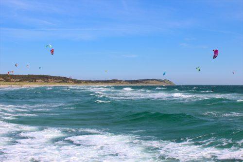 Anholt island waves kiters wind baltic