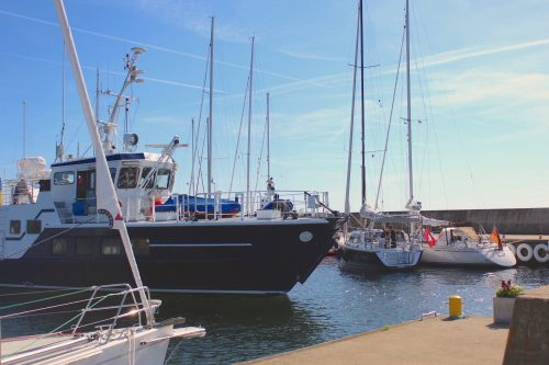 Hanö sweden island marina