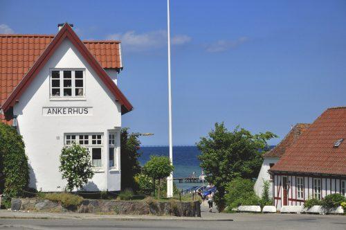 lundeborg fünen Denmark coast