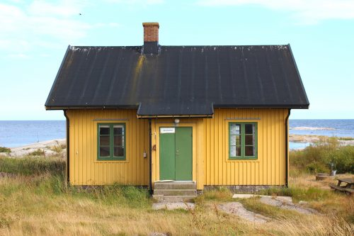 utklippan sweden house island