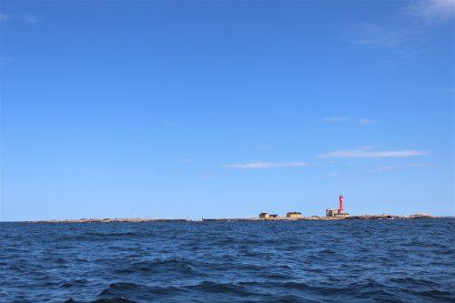 utklippan sweden island water sky blue