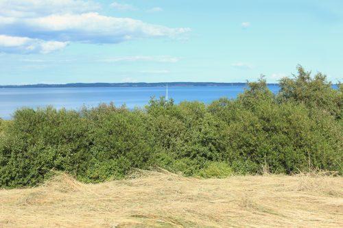 coast denmark jylland mooring ebeltoft