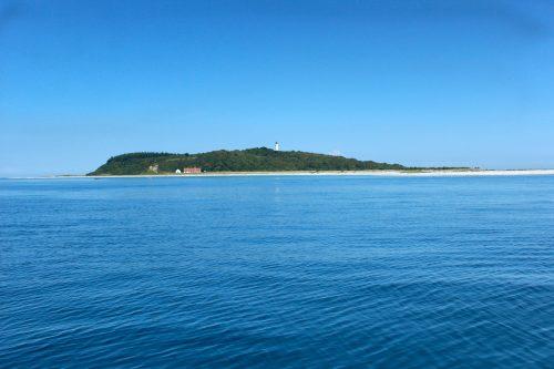 Island Denmark helm water sky beach kattegatt blue