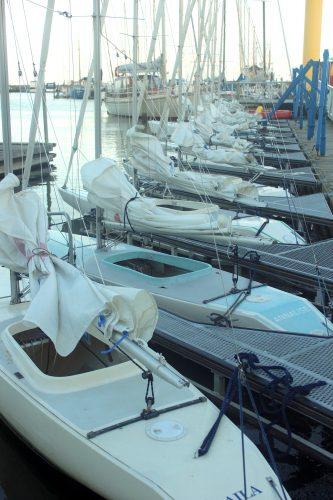 boats sailing marina white water hou denmark