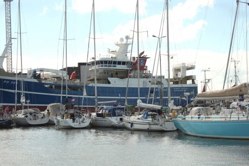 skagen denmark boats sky blue water